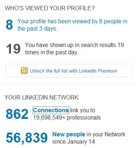 Linkedin Connections and Network