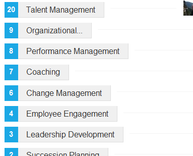 Example of Linkedin Endorsement for Skills and Expertise