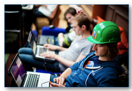 Creative Commons License Mozilla in Europe Hack-a-Thon http://bit.ly/1UxYZ0L